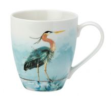Reflections Tall Mug- Heron